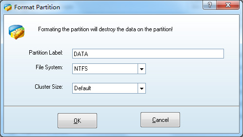 MiniTool Partition Wizard Format Partition