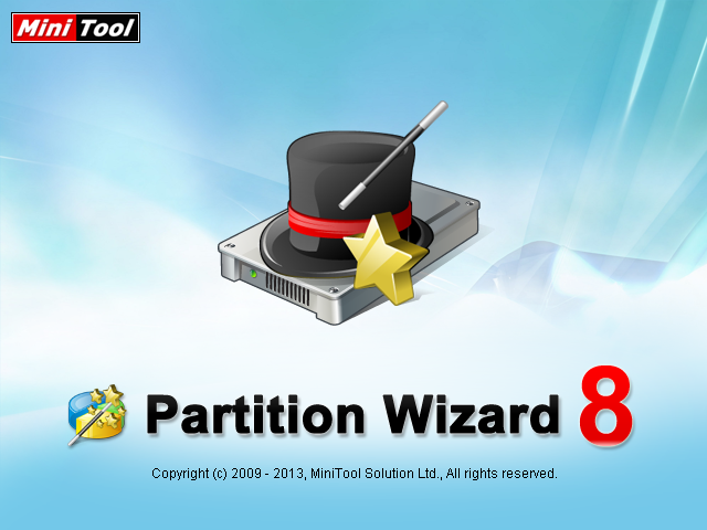 MiniTool Partition Wizard Startup