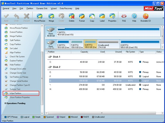 Using freeware partition manager for XP to manage Windows XP