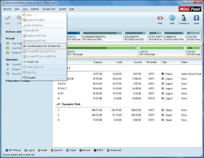 mini tool partition wizard invalid configure file
